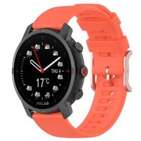 Sport Armband Silicone Polar Grit X - Orange