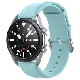Leather Armband Samsung Galaxy Watch 3 (45mm) - Lightblue