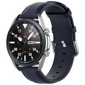 Leather Armband Samsung Galaxy Watch 3 (45mm) - Darkblue