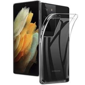 Clear Silicone Case Samsung Galaxy S21 Ultra