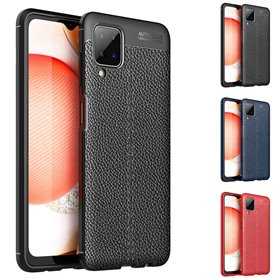 Leather Patterned TPU Case Samsung Galaxy A12