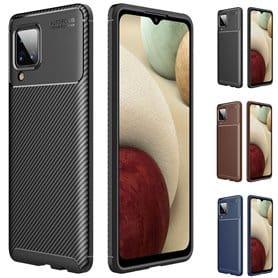 Carbon silicone shell Samsung Galaxy A12