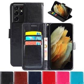 Phonecase wallet 3-card Samsung Galaxy S21 Ultra