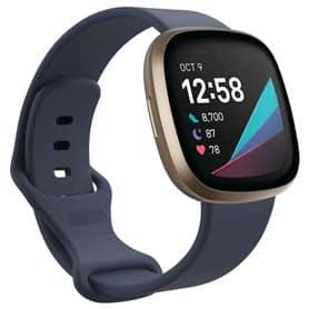 Sport Armband Silicone Fitbit Sense - GreyBlue