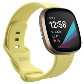 Sport Armband Silicone Fitbit Sense - Creamy Yellow