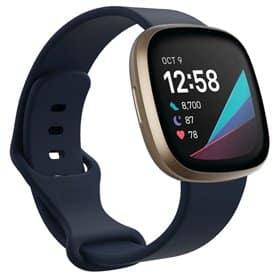 Sport Armband Silicone Fitbit Sense - Darkblue