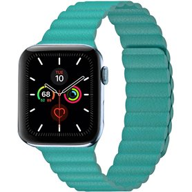 Apple Watch 5 (44mm) Leather loop band - Pink