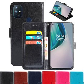 Phonecase wallet 3-card OnePlus Nord N10