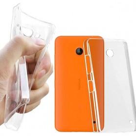 Nokia Lumia 630 / 635 silikon skal transparent