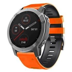 Twin Sport Armband Garmin Fenix 6S - Orange/black