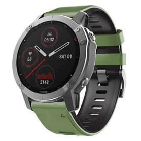Twin Sport Armband Garmin Fenix 6S - Green/black
