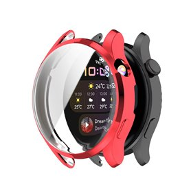 Silicone case Huawei Watch 3 - Red