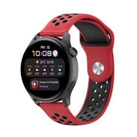 EBN Sport Armband Huawei Watch 3 - Red/black