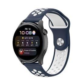 EBN Sport Armband Huawei Watch 3 - Navy/white