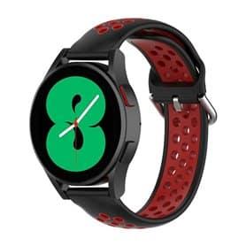 EBN Sport Armband Samsung Galaxy Watch 4 44mm - Black/red