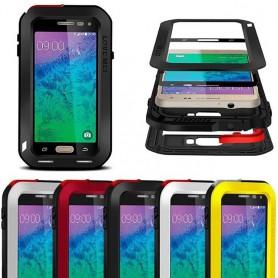 LOVE MEI Powerful Samsung Galaxy Alpha mobilskal av metall