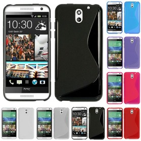 S Line silikon skal HTC Desire 610