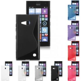 S Line silikon skal Nokia Lumia 730, 735