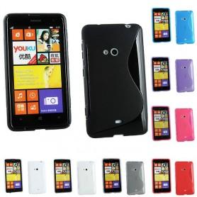 S Line silikon skal Nokia 625