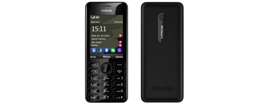 Buy mobile accessories for Nokia 206 at CaseOnline