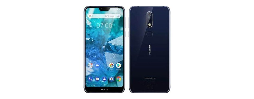 Buy mobile shell and cover for Nokia 7.1 Plus at CaseOnline.se